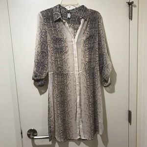 NWT Old Navy Snakeprint Dress